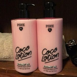 New with tags Victoria's Secret PINK coconut oil